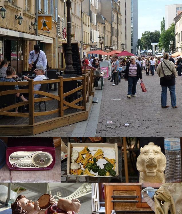 Brocante d'Outre-Seille à Metz 3 septembre 2010