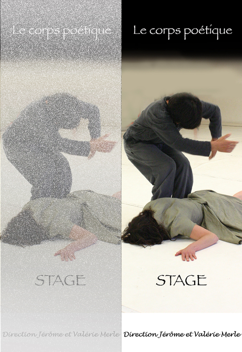 """Stage """"Le corps poétique"""" 2007"""