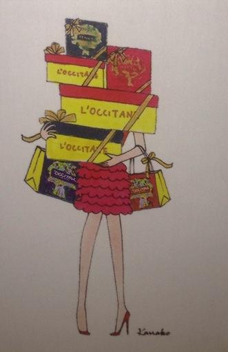 My little mini box de Noël spéciale l'Occitane