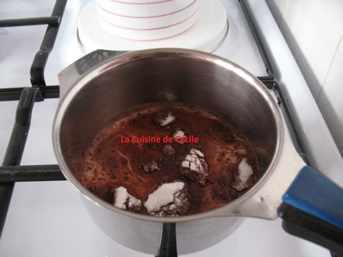 Gâteau de Semoule Chocolat Vanille