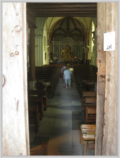 Le clocher de l'église St Michel de Fontevraud-l'abbaye