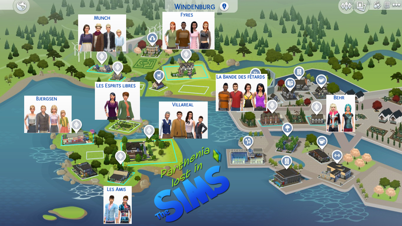 Sims 4 Vivre ensemble : Windenburg