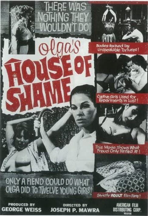 OLGA'S HOUSE OF SHAME BOX OFFICE 1964