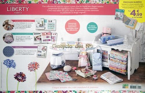N° 1 Kits prêts à coudre avec Liberty Fabrics