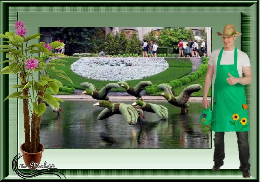 ♥ Chapeau le jardinier ♥