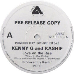 Kenny G. & Kashif - Love On The Rise