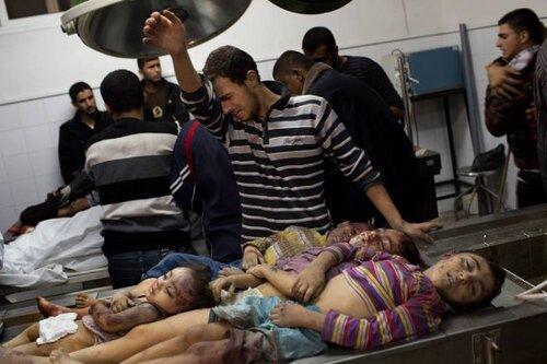 Les massacres envers les enfants de Gaza en vidéo