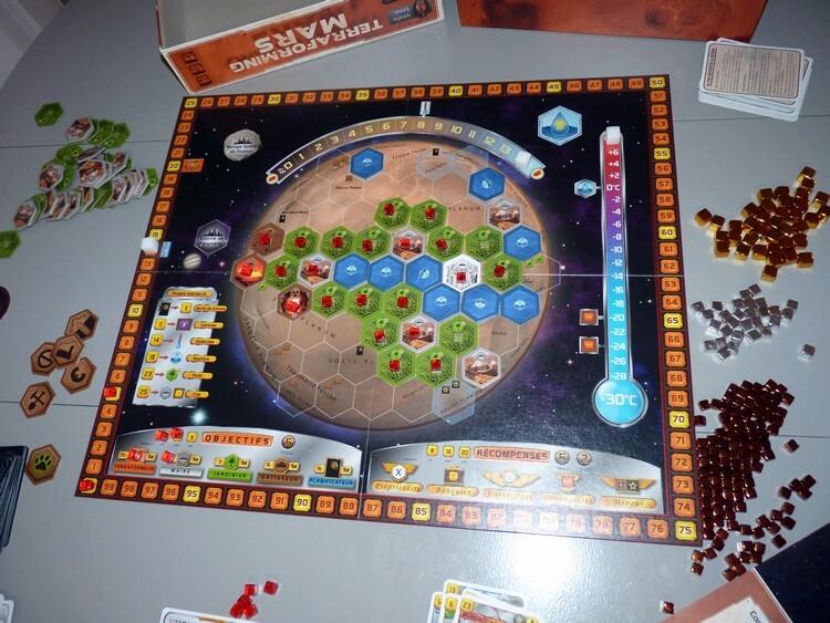 Terraforming Mars (la planète)