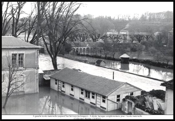 Les inondations de 1955 à Châtillon sur Seine, première partie...