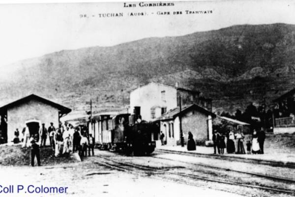 Coll P.Colomer-Tuchan- Gare des tramways