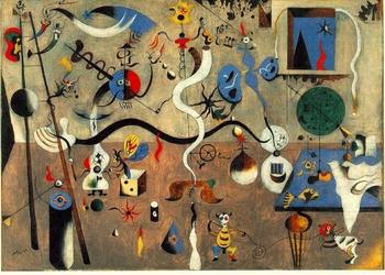 Joan Miro, Le carnaval d'Arlequin