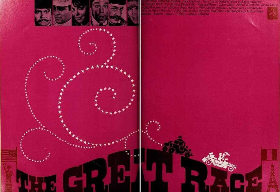 THE GREAT RACE BOX OFFICE USA 1965