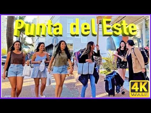 PUNTA del ESTE (URUGUAY) Walk Mansa Beach (Voyages)