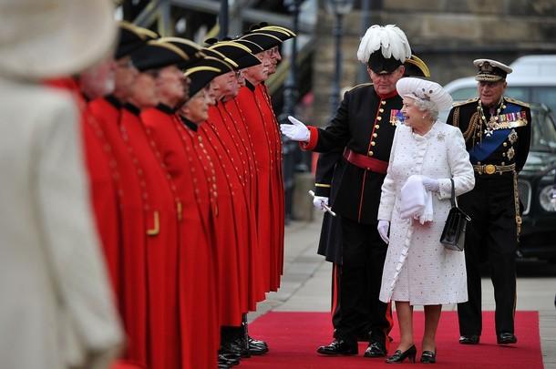 Arrivée de la reine