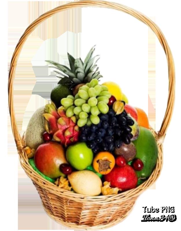 Tubes Paniers de fruits