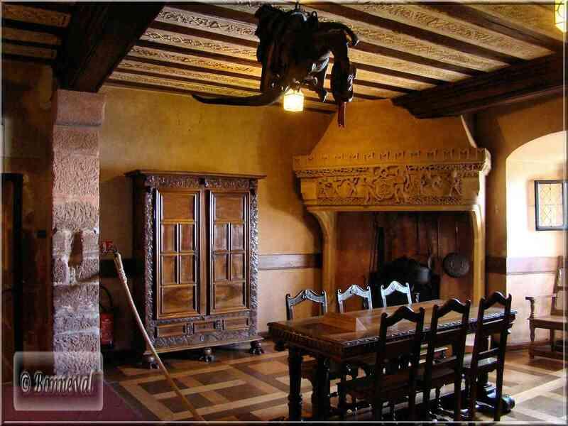 Alsace Haut-Koenigsbourg chambre Lorraine Suivez le Guide