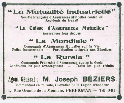 Le tramway est roi à Perpignan en 1928