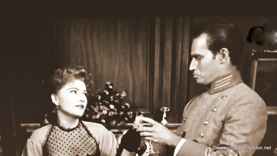 TERRE SANS PARDON (1954) photos en sépia