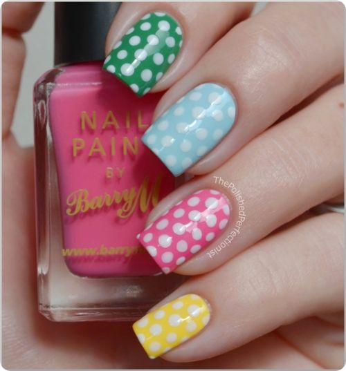 Nail art fashion...