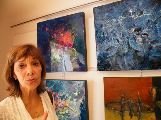Exposition à Marennes du Cercle des Artistes du Québec