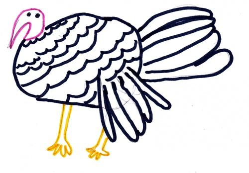 Aujourd'hui c'est thanksgiving!