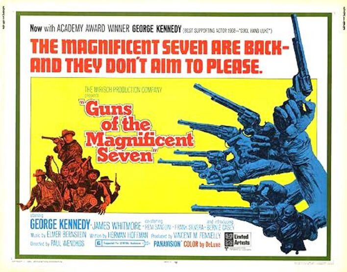 LES COLTS DES 7 MERCENAIRES BOX OFFICE 1969