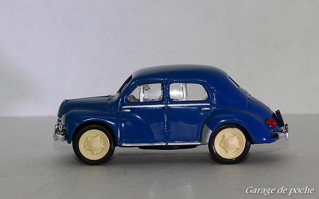 Renault 4CV 1955 Rouen Blue