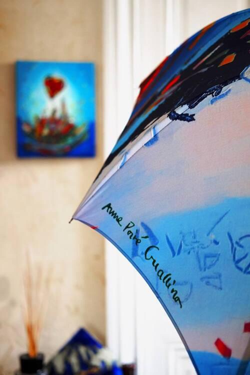 Vos parapluies d'artistes Poiré Guallino