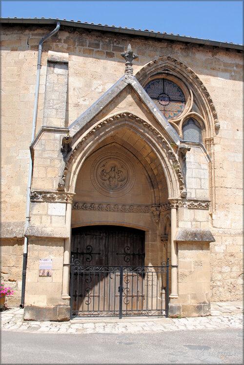 Photo église Saint Seurin - Rions - Gironde