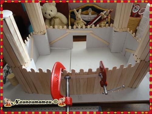 Gros travaux au château