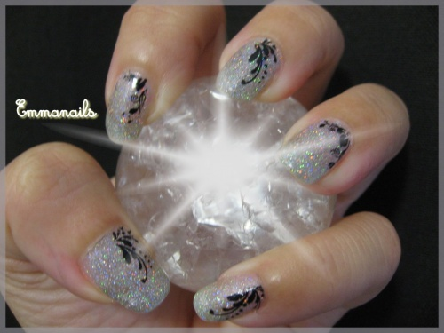 La déco du orly prisma gloss silver