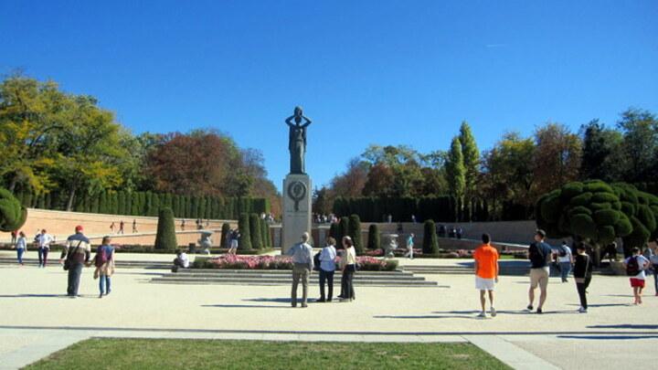 Parc du Retiro à Madrid