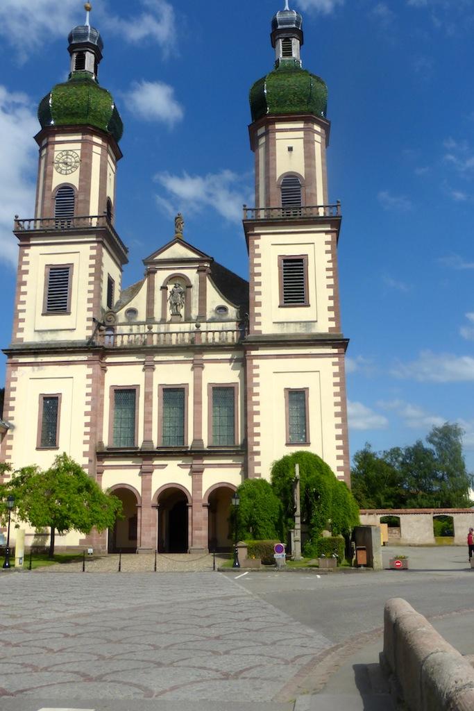 Ebersmunster: son abbaye.