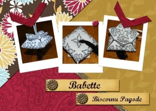 Biscornu Pagode - Babette