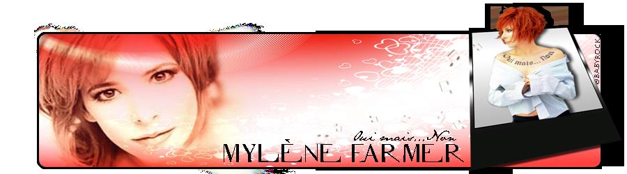 Bannière Mylène Farmer