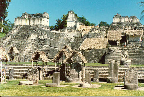 Patrimoine mondial de l'Unesco : Tikal - Guatemala-