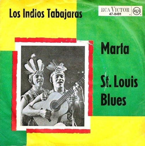 Los Indios Tabajaras - Marta