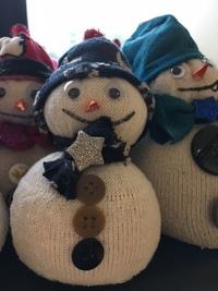 bonhomme de neige bricolage