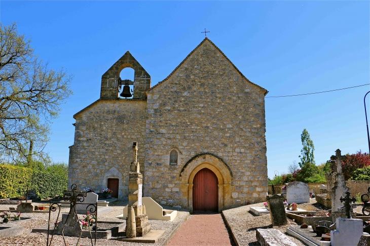 L'église Sainte Madeleine - Monmadalès