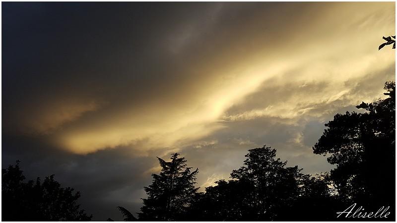 Un bel orage à Lyon...