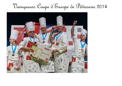 Coupe d'Europe de Pâtisserie 2014