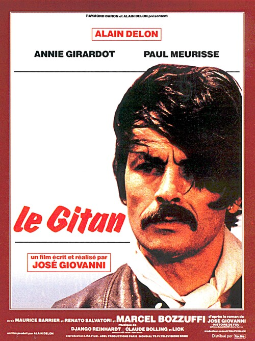 LE GITAN -  ALAIN DELON BOX OFFICE 1975