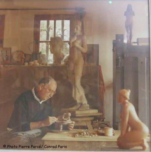 Conrad Paris, père des santons