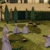 Les princesses exécutant la punission de Rowena