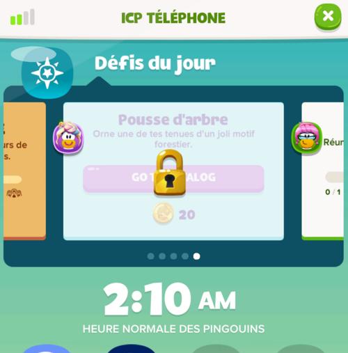 Nouveautés de la version 1.3 de l'Île de Club Penguin