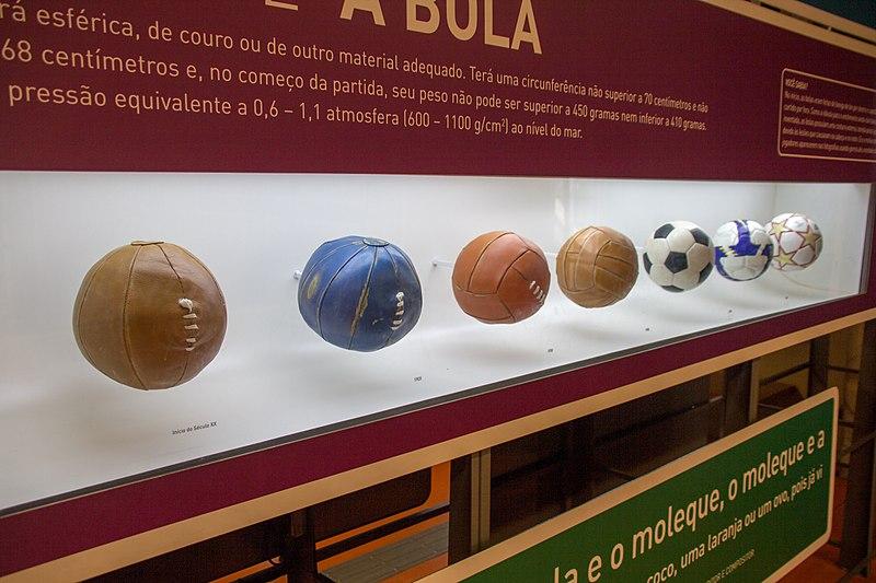 Au Musée du football de São Paulo (Museu_do_Futebol,_Sao_Paulo)