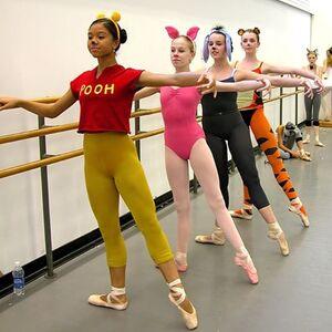 dance ballet class halloween ballet
