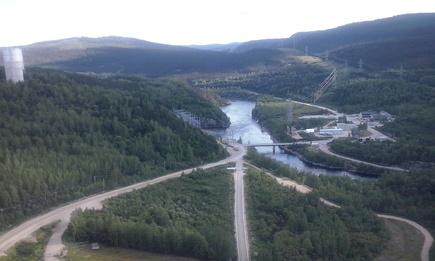 Meine Reise durch Québec: Tag neun - Baie-Comeau - Manic-5 - Baie-Comeau