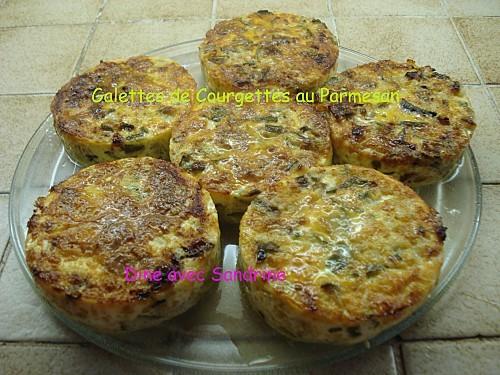 Galettes de Courgettes au Parmesan 7