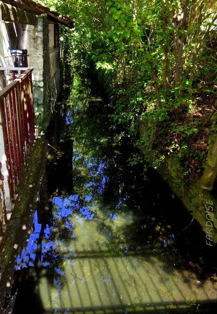 Un peu de bleu dans l'eau cu canal